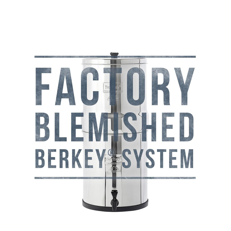 New Unused Display Model Discounted Big Berkey System